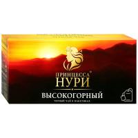Чай Принцесса Нури высокогорный чёрный байховый 50п