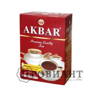 Чай Аkbar чёрный крупнолистовой 100г