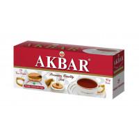 Чай Аkbar черный байховый мелколистовой 25п