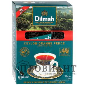 Чай Dilmah чёрный крупнолистовой 100г