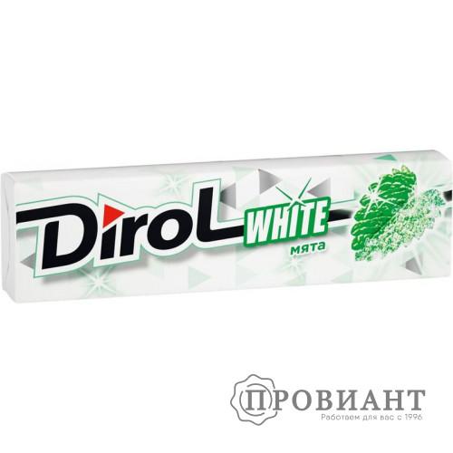 Жевательная резинка Dirol мята 13,6г
