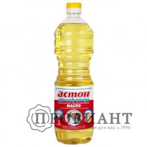 Масло подсолнечное Астон рафинированное 1л