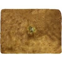 Пирог слоёный с картофелем и куриным филе