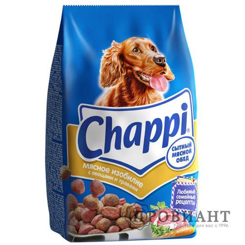 Корм для собак Chappi мясное изобилие 600г