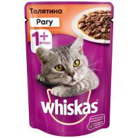 Корм для кошек Whiskas рагу из телятины 85г