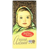 Шоколад Алёнка молочный 100г