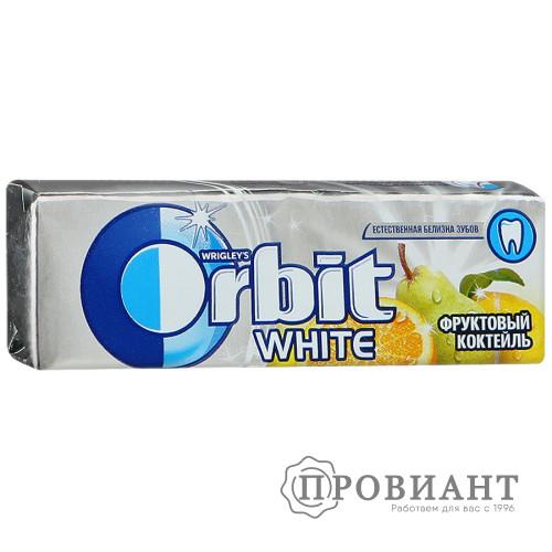 Жевательная резинка Orbit фруктовый коктель 14,0г
