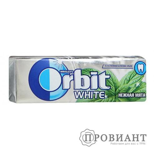 Жевательная резинка Orbit нежная мята 14,0г
