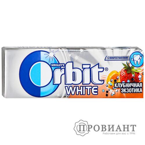 Жевательная резинка Orbit клубничная экзотика 14,0г