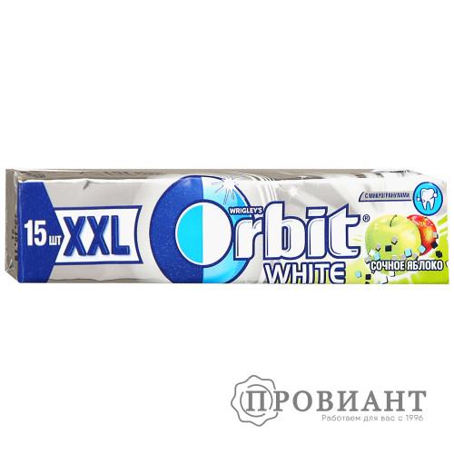 Жевательная резинка Orbit XXL сочное яблоко 20,4г