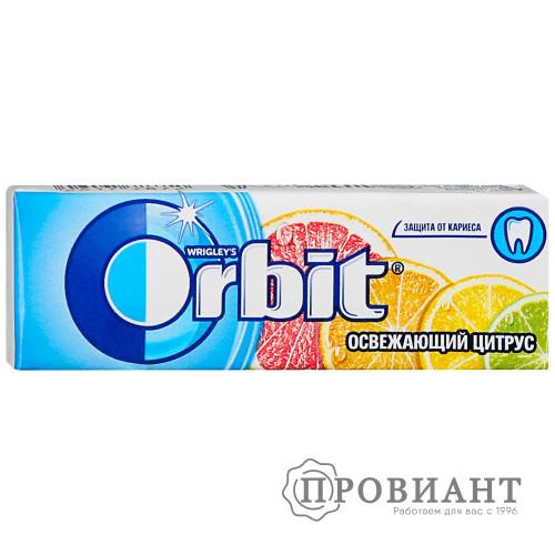 Жевательная резинка Orbit освежающий цитрус 13,6г