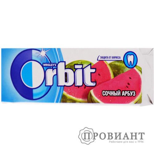 Жевательная резинка Orbit сочный арбуз 13,6г