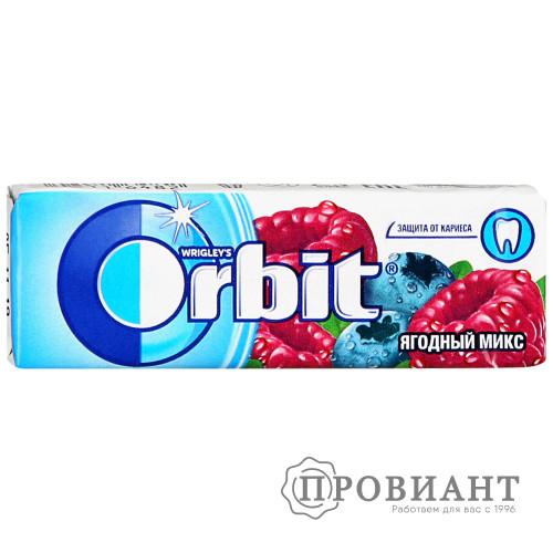 Жевательная резинка Orbit ягодный микс 13,6г