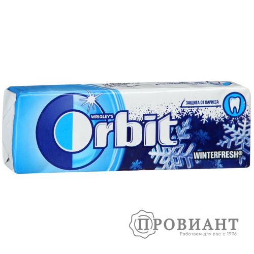 Жевательная резинка Orbit winterfresh 13,6г