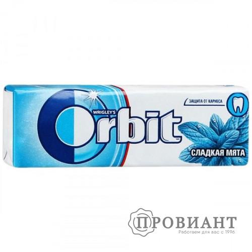Жевательная резинка Orbit прохладная мята 13,6г