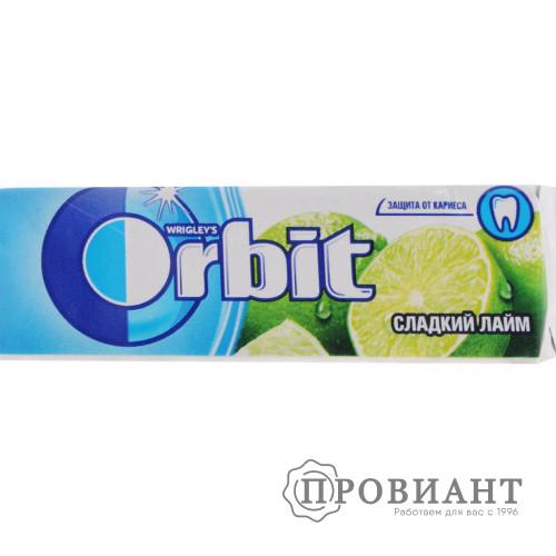 Жевательная резинка Orbit сладкий лайм 13,6г