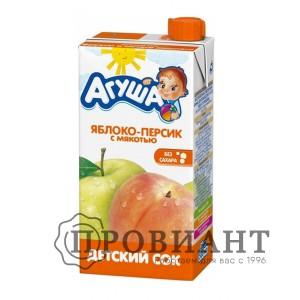 Сок Агуша яблоко осветленный 500мл