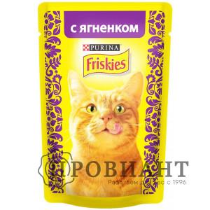 Корм для кошек Friskies с ягненком 85 г