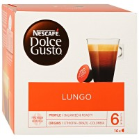 Капсулы Nescafe Dolce Gusto Lungo 16 штук