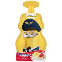 Йогурт Растишка обогащенный кальцием и витамином Д3 малина-банан 70г м.уп.