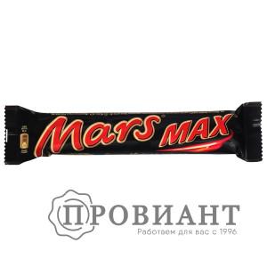 Батончик шоколадный Mars MAX молочный нуга-карамель 81г