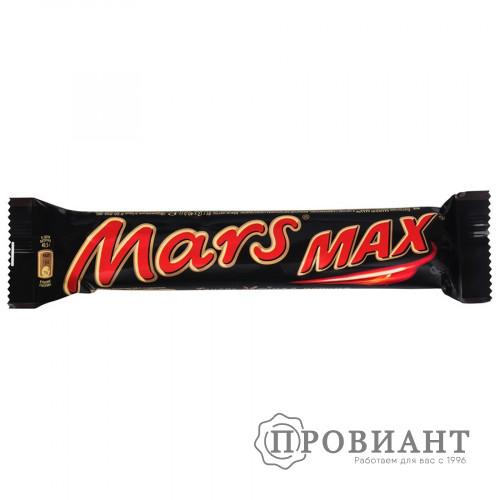 Батончик шоколадный Mars MAX молочный нуга-карамель 70г