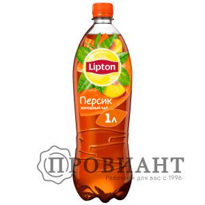 Холодный чай Lipton персик 1л