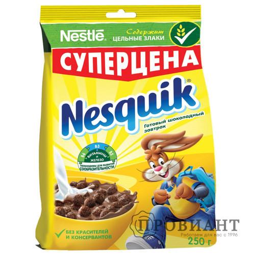 Завтрак готовый Nesquik шоколадные шарики 250г