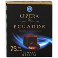 Шоколад в кубиках O`zera Ecuador горький 90г