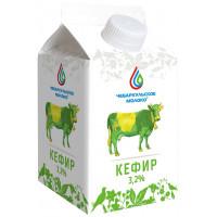 Кефир Чебаркульское молоко 3,2% 0,5л БЗМЖ