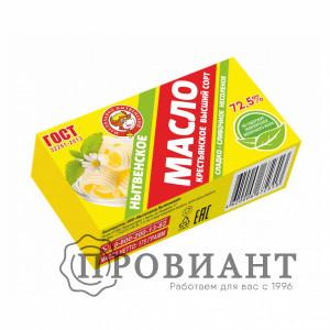 Масло сливочное Нытвенское 72,5% 175г