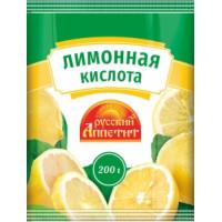 Лимонная кислота Русский аппетит 200г