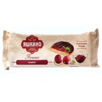 Печенье бисквитное Яшкино с вишневым джемом 137г
