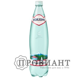 Вода минеральная лечебно-столовая Borjomi пэт 0,75л