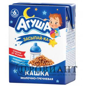 Агуша Засыпай-ка молочно-гречневая 200мл