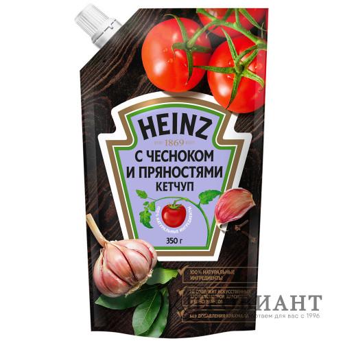 Кетчуп Heinz с чесноком и пряностями 0,350кг
