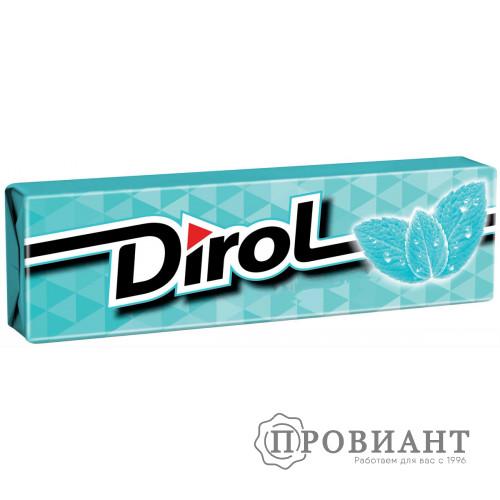 Жевательная резинка Dirol нежность мяты 13,6г