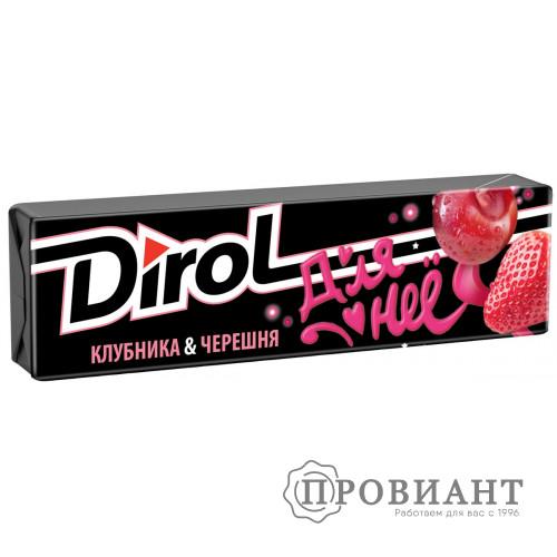 Жевательная резинка Dirol клубника-черешня 13,6г