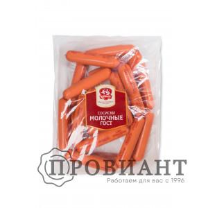 Сосиски Ромкор молочные ГОСТ (вес)