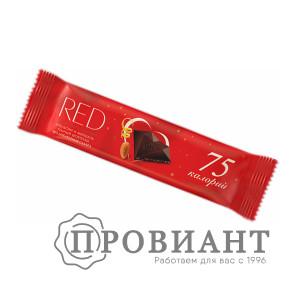 Шоколадный батончик RED апельсин миндаль темный шоколад 26г