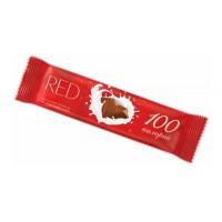 Шоколадный батончик RED молочный шоколад 26г
