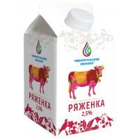 Ряженка Чебаркульское молоко 2,5% 0,5л БЗМЖ