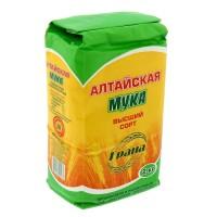 Мука Алтайская пшеничная 2кг