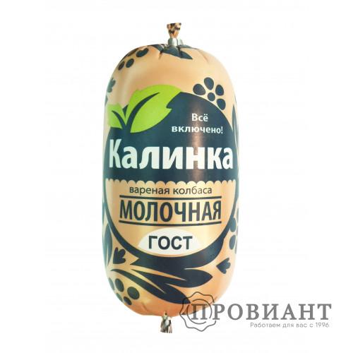Колбаса Калинка молочная ГОСТ 400г