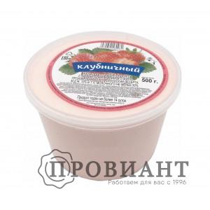 Десерт творожный клубника 500г СЗМЖ