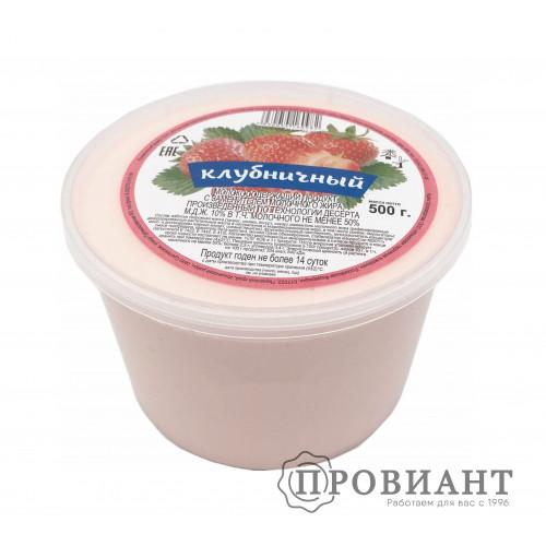 Десерт творожный клубника 450г СЗМЖ