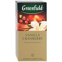 Чай Greenfield Vanilla Cranberry 25п