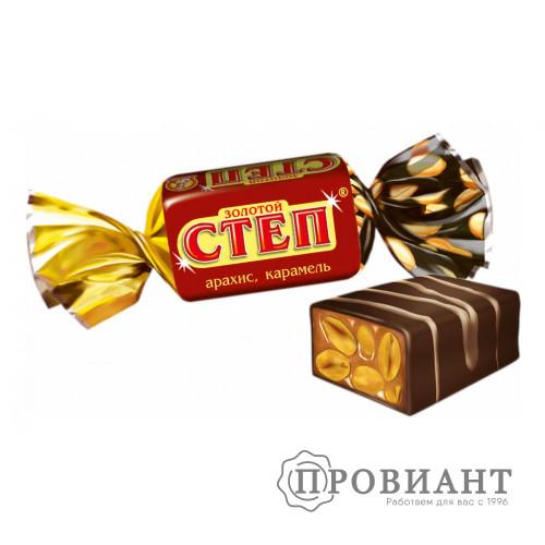 Конфеты Степ золотой (вес)