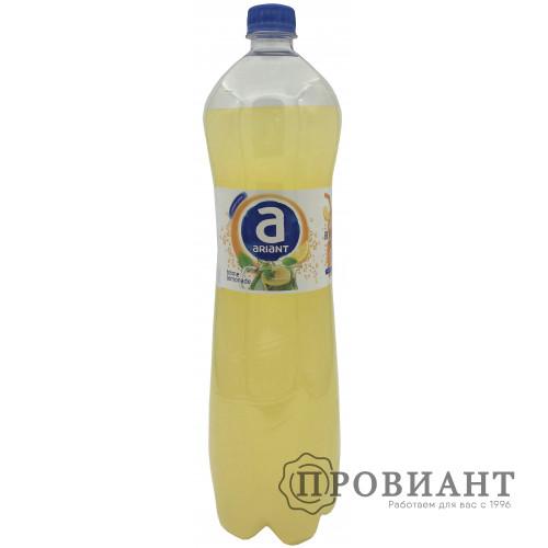 Газированный напиток Ариант домашний лимонад 1,5л