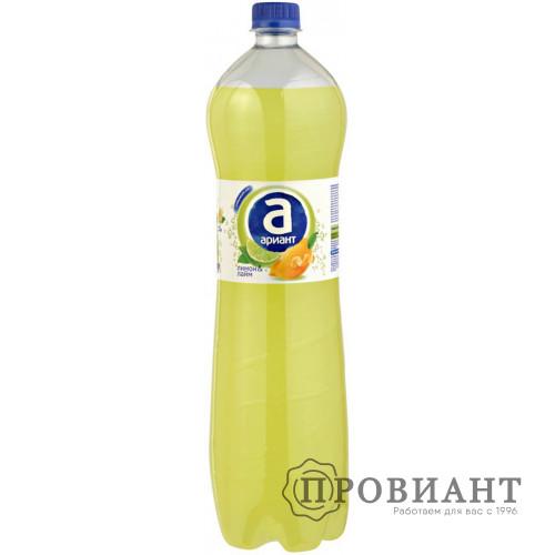 Газированный напиток Ариант лимон-лайм 1,5л